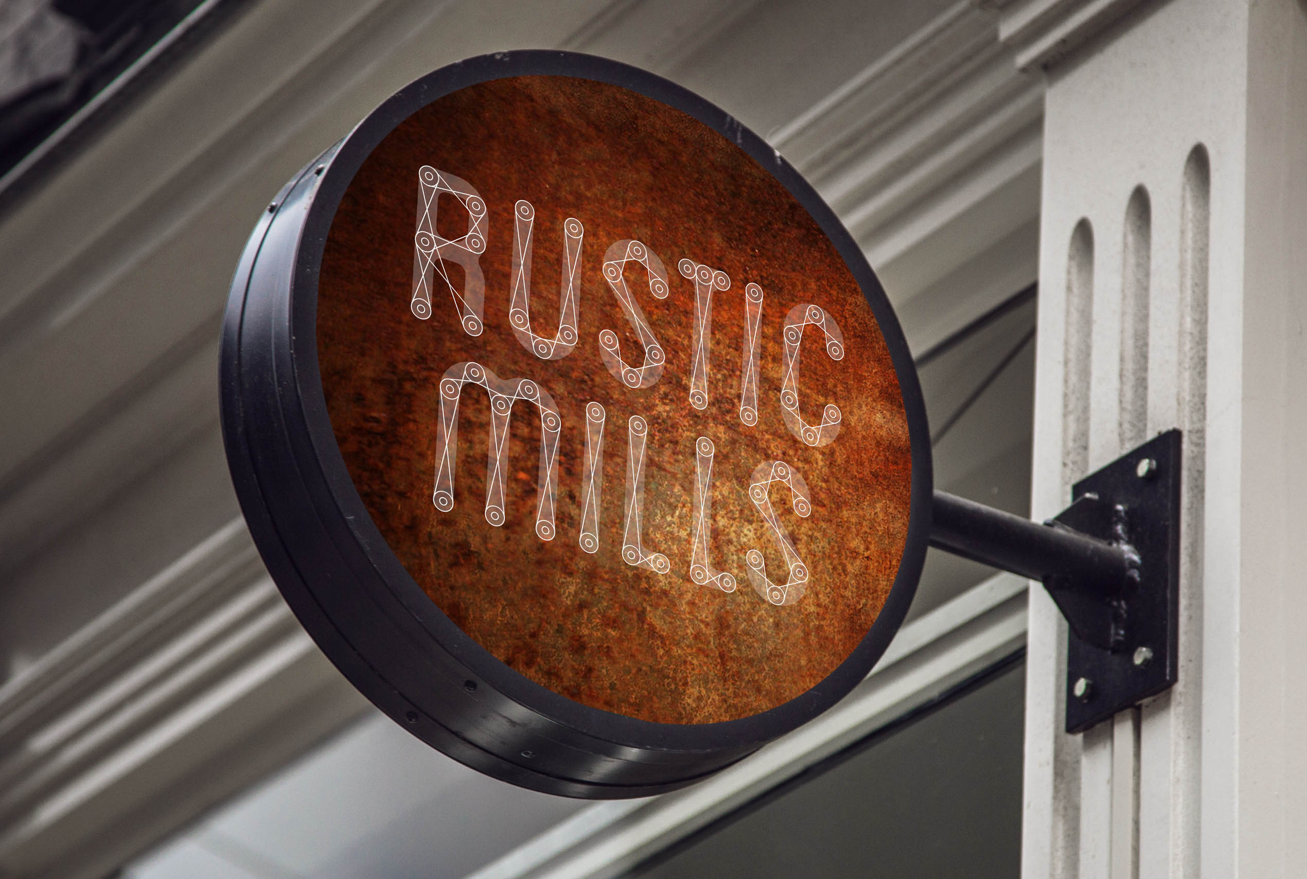 RUSTIC MILLS | Small Business Logo | Student Brief