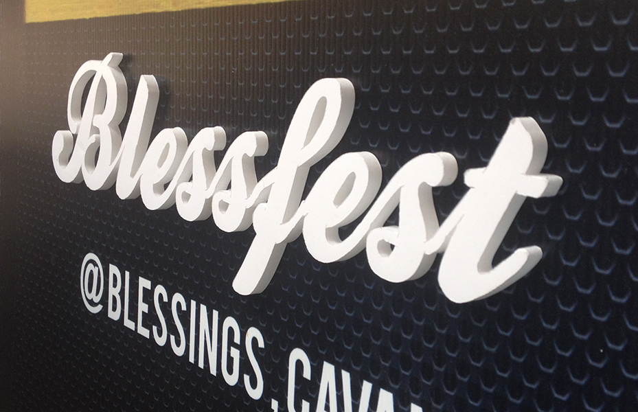 BLESSFEST | Festival  Branding and Decor