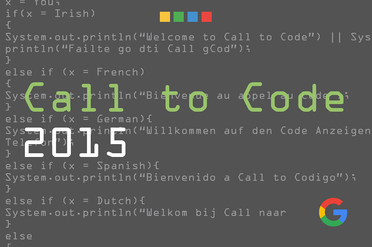 Google | Call to Code Event 2015